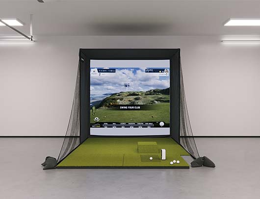 SIG8 SkyTrak Golf Simulator from Shop Indoor Golf