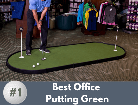 office putting green - tour links 4' x 12'