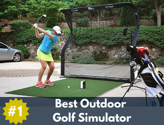 best outdoor golf simulator