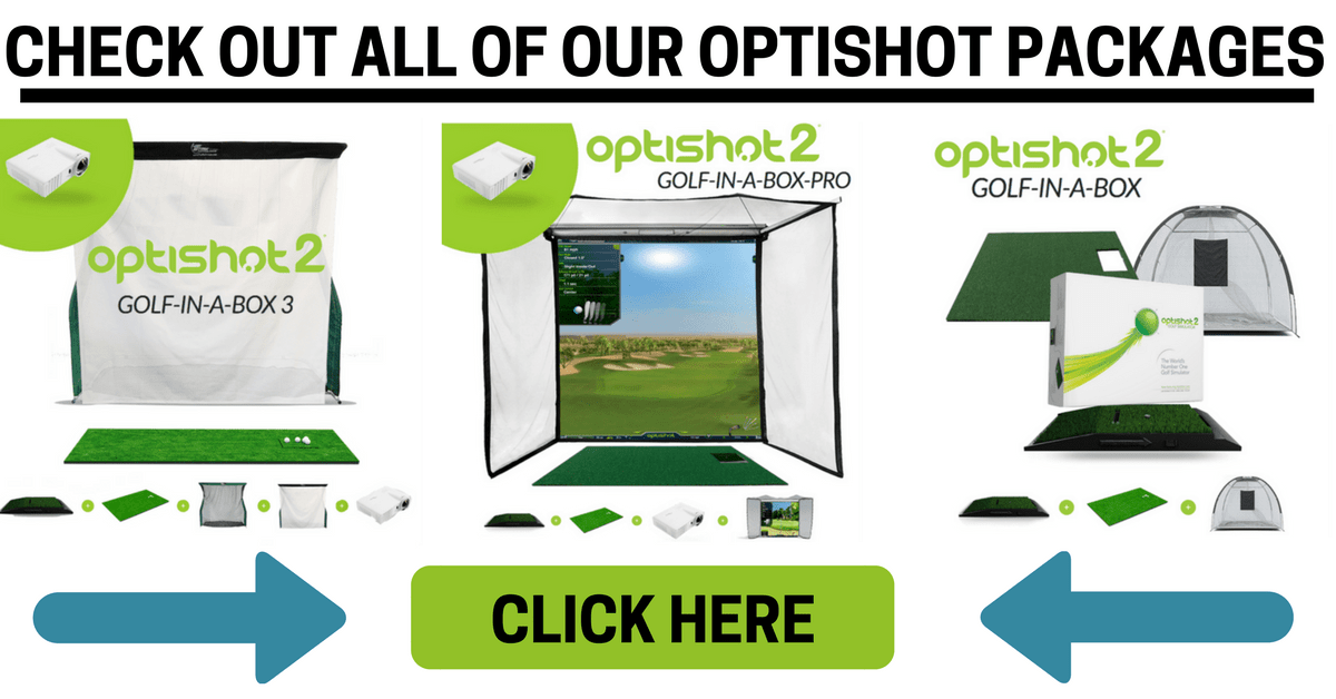 compare optishot 2 golf simulator packages at Shop Indoor Golf