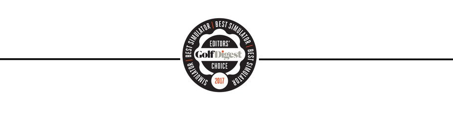 skytrak wins golf digest best in class golf simulator award