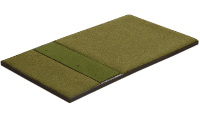 fiberbuilt 4' x 7' single sided performance turf golf mat