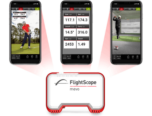 flightscope mevo launch monitor stats