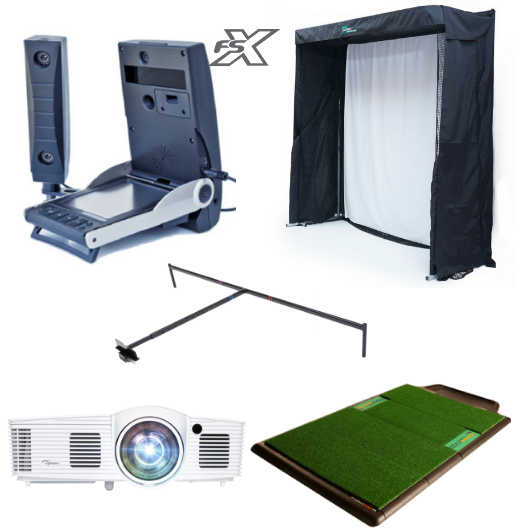 Foresight GC2 Indoor Golf Simulator Platinum Training Package