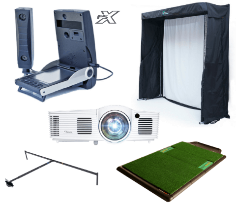 foresight gc2 golf simulator training package