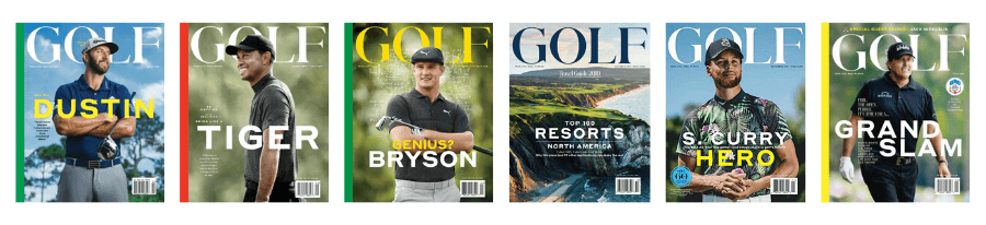 golf magazine free with purchase of skytrak package