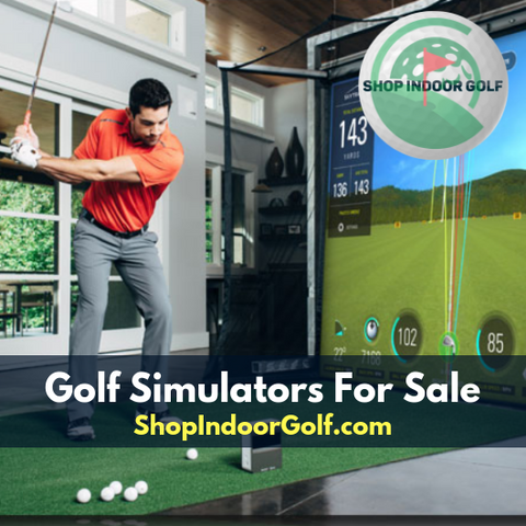 golf simulators for sale from shop indoor golf