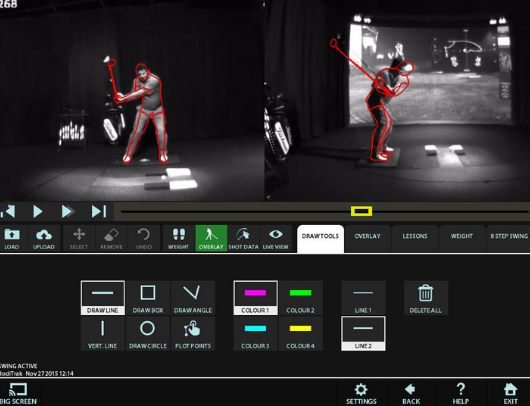 hd golf video swing analysis