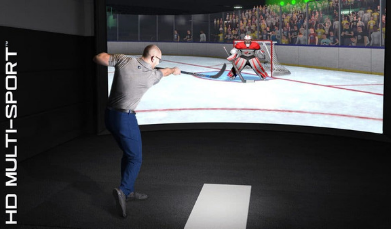 hockey on hd multisport golf simulator