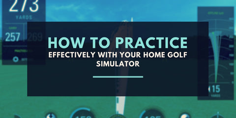 home golf simulator practice