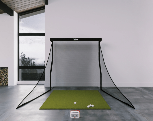 mevo plus training golf simulator package