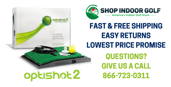optishot 2 indoor golf simulators for sale