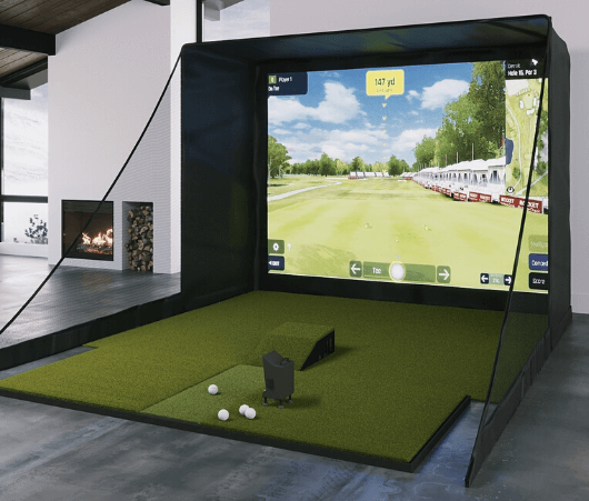 optishot ball flight sig10 golf simulator package