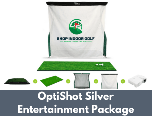 optishot silver entertainment golf simulator for sale