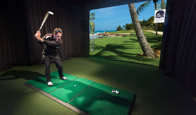 casa de campo on the hd golf simulator