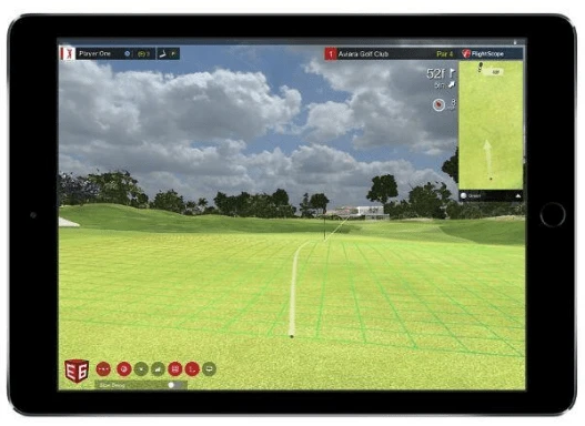 putting on e6 connect software with the flightscope mevo plus