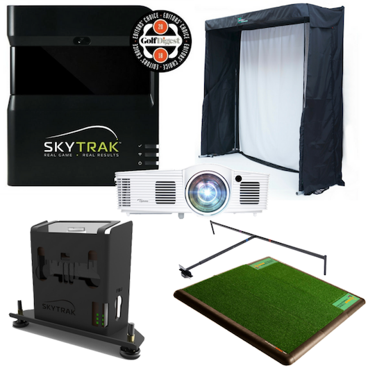 SkyTrak Indoor Golf Simulator Gold Training Package