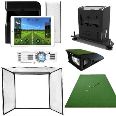 skytrak-flex-space-golf-simulator-package
