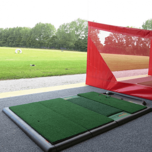 truestrike single golf mat