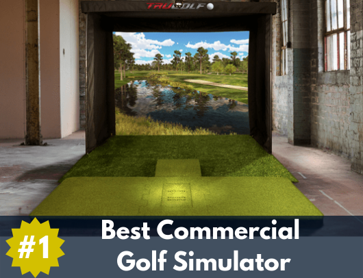 trugolf commercial golf simulator