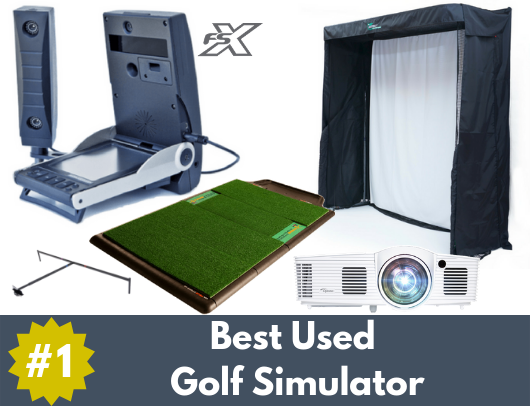 used gc2 golf simulator