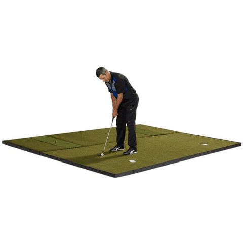 putting green with golf mat combo by fiberbuilt