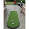 Image of chipping on the Big Moss Indoor and Outdoor Putting Green