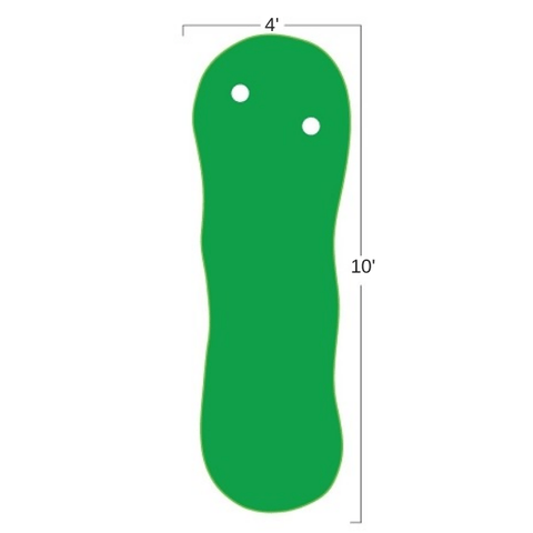 Big Moss The Augusta 410 V2   4' x 10'  Putting Green