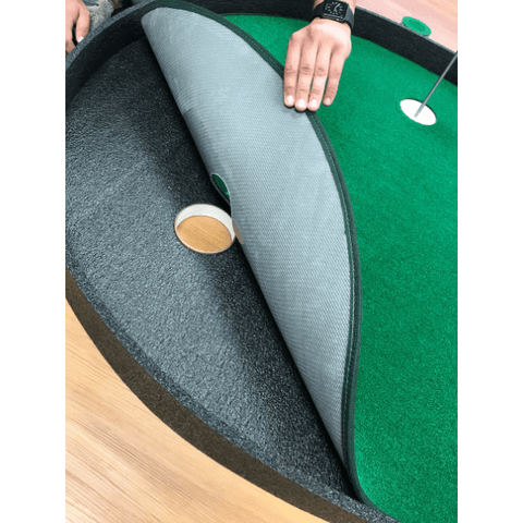 Big Moss The Augusta V2 Putting Green and Chipping Mat - Removable Foundation