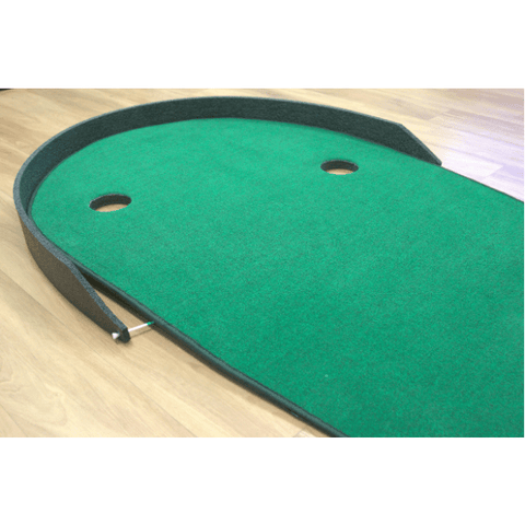 Big Moss The Augusta V2 Putting Green and Chipping Mat - Stadium Backstop