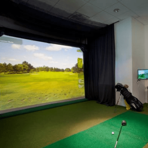 HD Golf Simulator Ultimate Entertainment Package