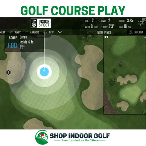 Foresight Sports GCQuad SIG10 Golf Simulator