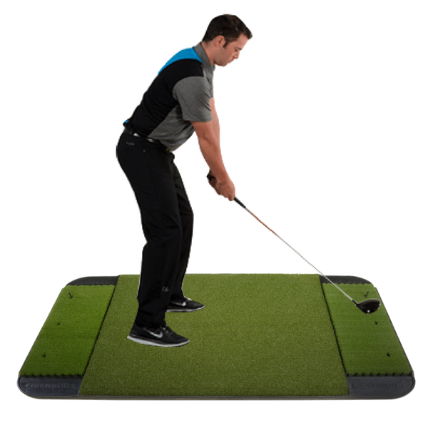 Fiberbuilt 4' x 6' Double Sided Performance Golf Mat