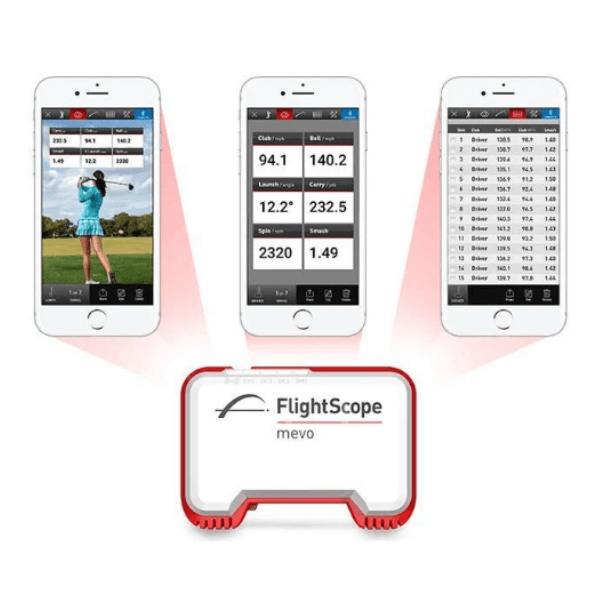 flightscope mevo golf app for iOS