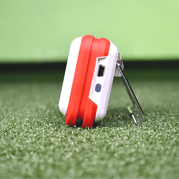 Flightscope mevo launch monitor side view