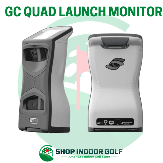 foresight gc quad launch monitor side view