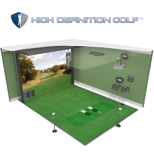 HD Golf Simulator Training Model