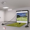 Image of flightscope mevo plus bronze golf simulator package