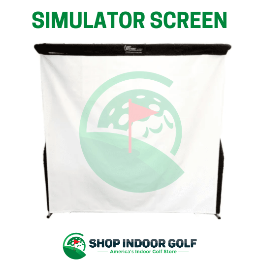 net return golf simulator screen