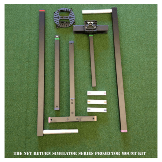 projector mount kit for simulator series golf net