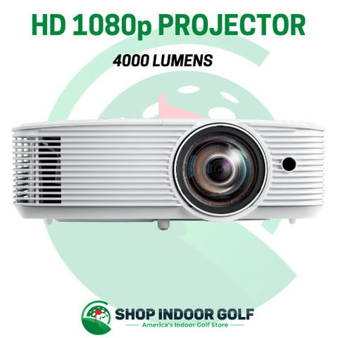 projector for golf simulator