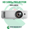 Image of projector for golf simulator