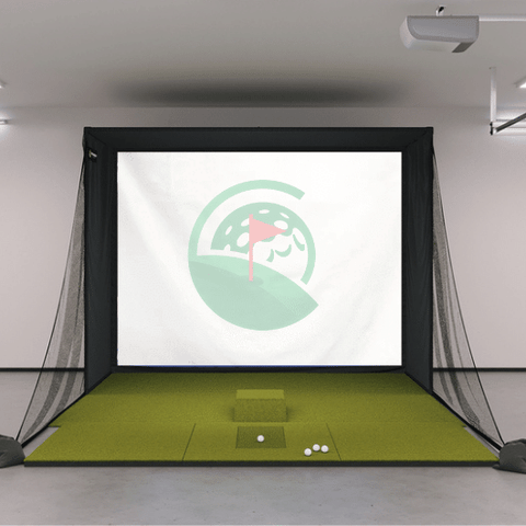 SIG10 Golf Simulator Screen Enclosure