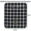 Image of sig12 simulator flooring dimensions and configuration