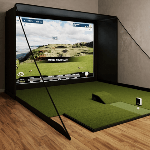 SIG12 Golf Simulator Enclosure