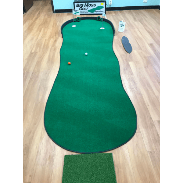 Big Moss The Augusta 410 V2   4' x 10'  Putting Green and Chipping Mat