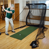 Image of The Net Return Mini Runner Golf Net With Mat Package