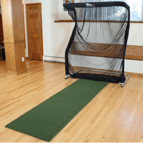 the net return mini pro series golf net with golf mat