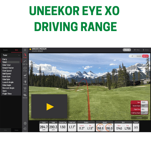 Uneekor EYE XO Driving Range