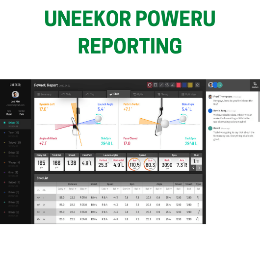 Uneekor PowerU Reporting and Community